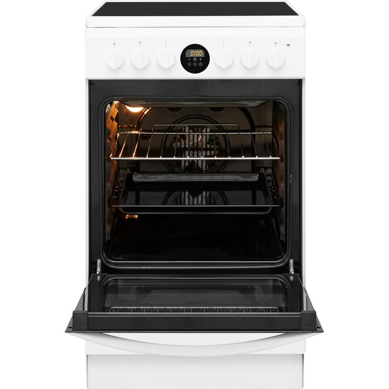 Indesit-Плита-IS5V8CCW-E-Белый-Electrical-Frontal-open