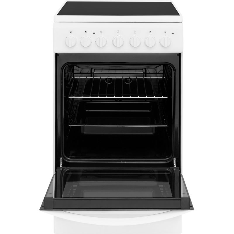 Indesit-Плита-IS5V4PHW-RU-Белый-Electrical-Frontal-open