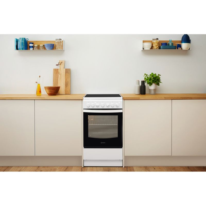 Indesit-Плита-IS5V4PHW-RU-Белый-Electrical-Lifestyle-frontal