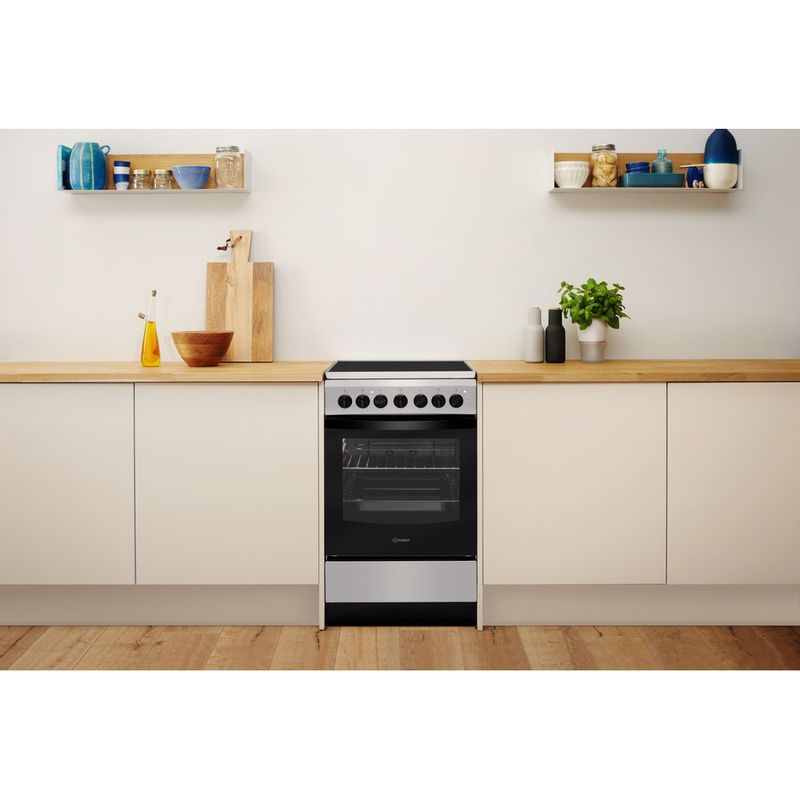 Indesit-Плита-IS5V4PHX-RU-Inox-Electrical-Lifestyle-frontal
