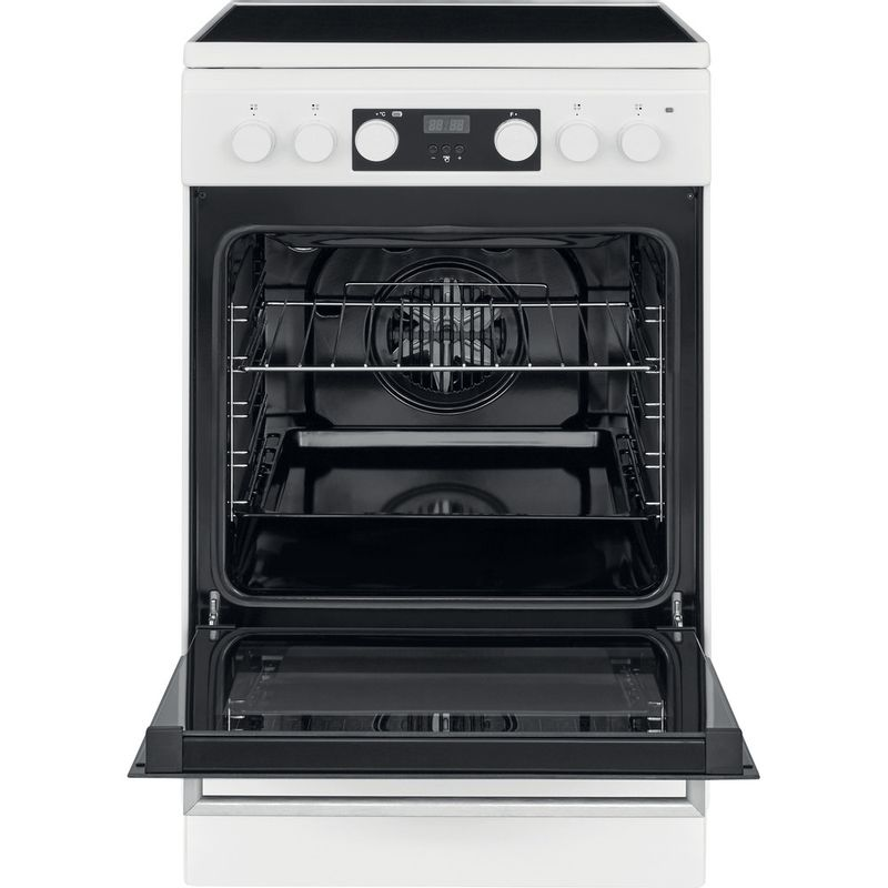 Whirlpool-Плита-WS5V8CCW-E-Белый-Electrical-Frontal-open