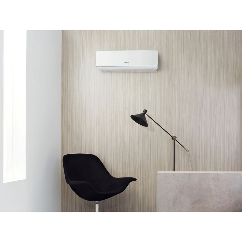 Whirlpool-Air-Conditioner-WHI49LB-A-Инверторный-Белый-Lifestyle-frontal